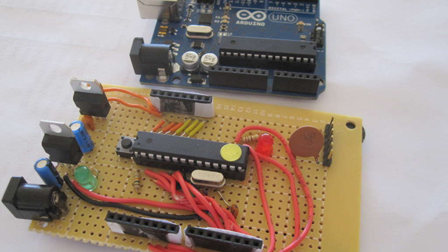 Click here to read Put Together Your Own Arduino Board (for Half the Price of Buying One)