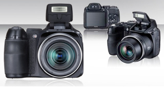 Fuji Finepix S2000HD with 720p Video Recording