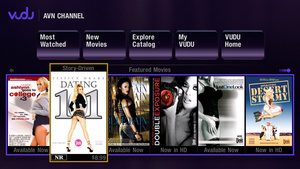 AVN-the Adult Video Network-is launching a dedicated porn channel on Vudu.