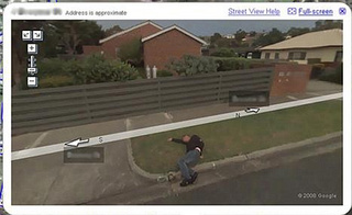Google StreetView Sees Man Passed Out Drunk On Mother's Lawn