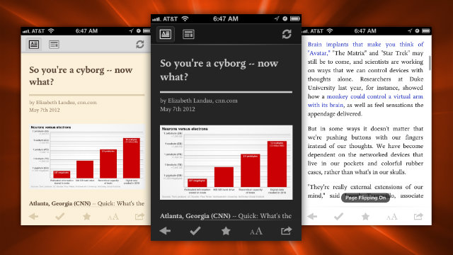Click here to read Pocket Updates with a Page Flipping Mode, Better Night Reading, and Expanded Video Support