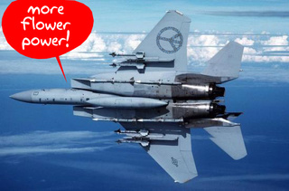 Flowerpower F-15 Breaks Mach 2, USAF to Start Painting Planes with Rainbows