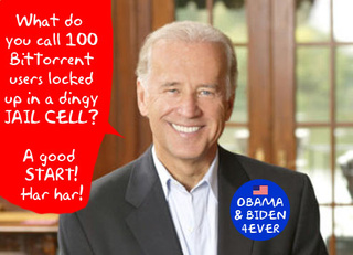 VP Candidate Biden Is No Friend to File Sharing, Net Neutrality Protection or Online Privacy