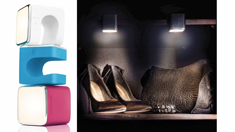 Click here to read Clip These Adorable LED Cubes Anywhere the Sun Don't Shine