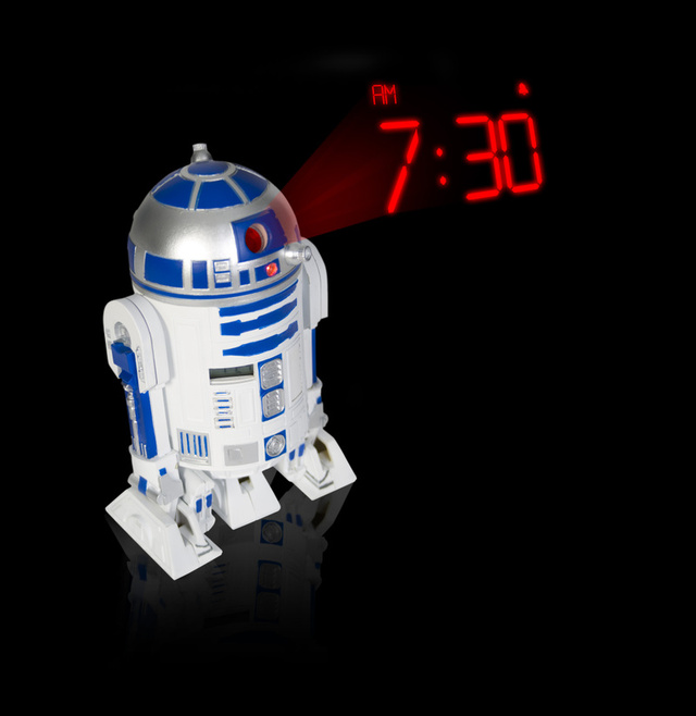 R2-D2 Alarm Clock Requires X-Wing Bedsheets