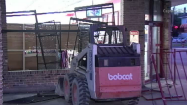 Man Rams a Store with a Stolen Tractor to Steal Deodorant