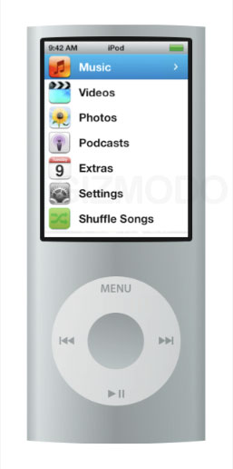 First Look at New iPod Nano Interface?