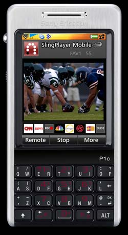 SlingPlayer Mobile Now On Symbian UIQ Phones