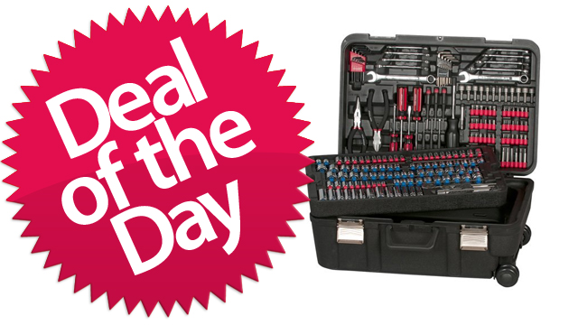 Click here to read This 204-Piece Tool Kit Is Your Fixed-That-For-You Deal of the Day