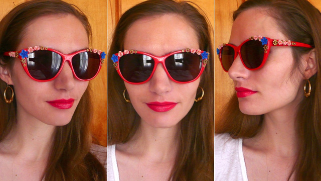 How To Make Surrealist Schiaparelli Sunglasses