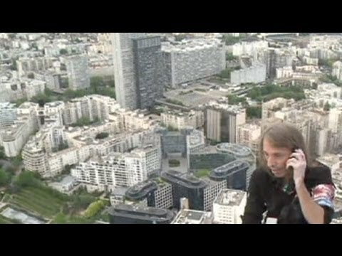 Click here to read Real-Life Spiderman Climbs France's Tallest Building Without a Harness