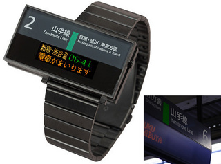 Yamanote Line Watch: The Thrill of a Tokyo Commute on Your Wrist