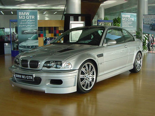The Other V8-Powered 3-Series: The BMW M3 GTR