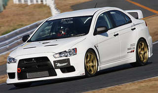 HKS Mitusbishi Lancer Evo X Gets HP Boost And Suspension Upgrades