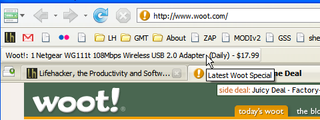 Download of the Day: Woot Watcher (Firefox)