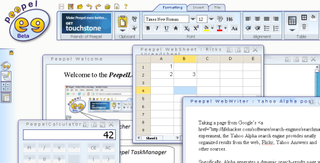 Take your work to the web with Peepel online office suite