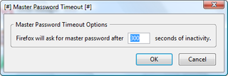 Secure your passwords with Master Password Timeout