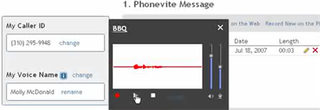 Send mass invitations over the phone with Phonevite