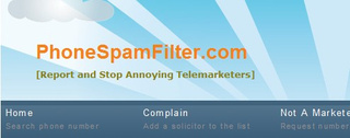 PhoneSpamFilter Identifies Telemarketers