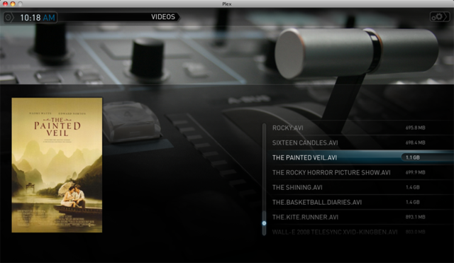 Plex XBMC Fork Updates with New Skin