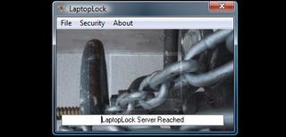 Secure your laptop with the LaptopLock