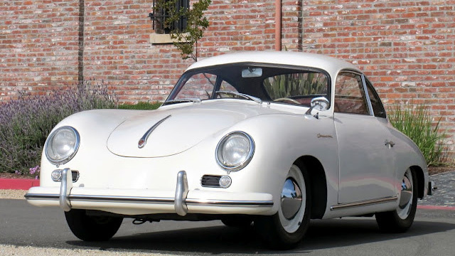 1955 Porsche 356 Bent Window Continental Is Simply Beautiful