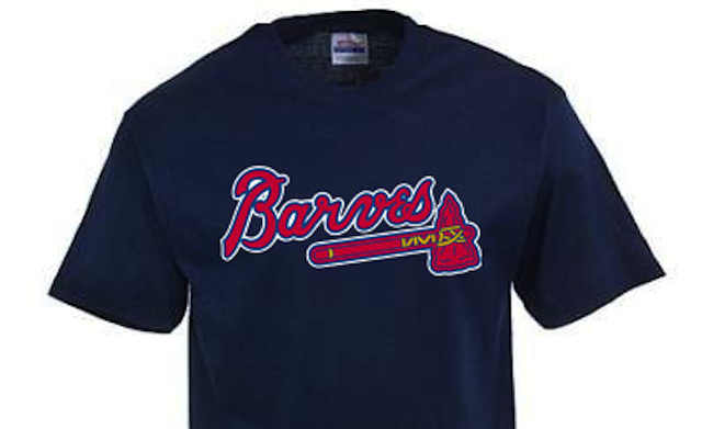 "Major League Baseball Swings And Misses Again, Shuts Down ""Atlanta Barves"" T-Shirt Operation"