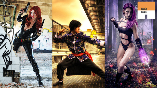 Video Games and Comics Team Up for a Cosplay Extravaganza