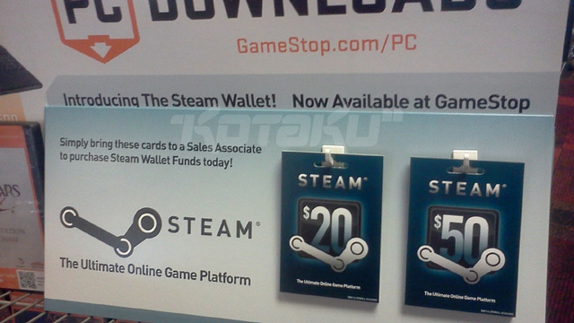 Click here to read Steam Codes Are Now Officially Coming To GameStop
