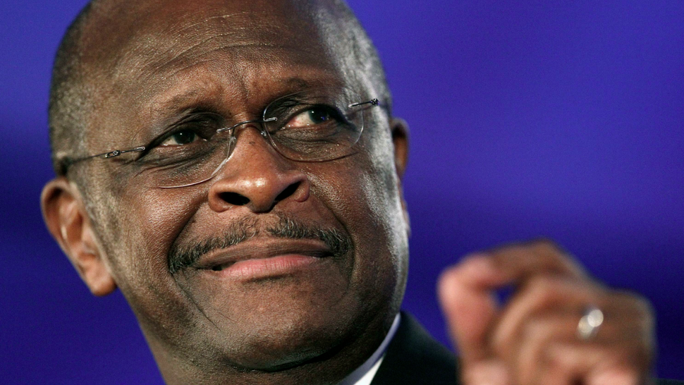Herman Cain's Just Another Wacky Gold Bug Now