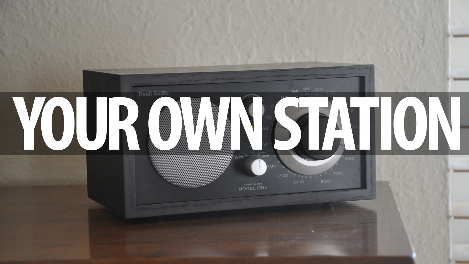 Stream Music To Every Radio In A House