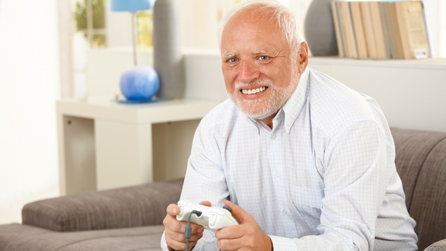 Fake Gamer Of The Week: Grandpa Just Saw Aeris Die