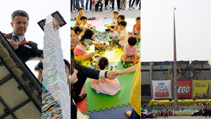 Korean Toddlers Build Tallest Lego Tower in the World