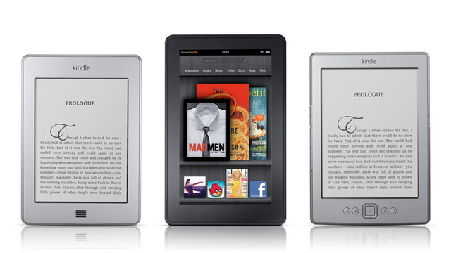 Report: Amazon's Next Kindle Fire Will Have a Better Display