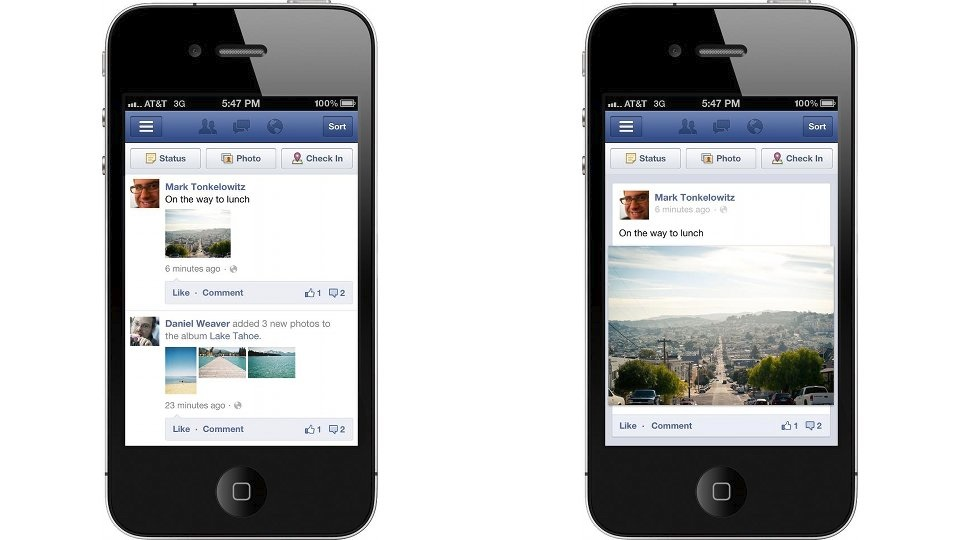 Click here to read Facebook's New Mobile News Feed Has Instagram's Fingerprints All Over It