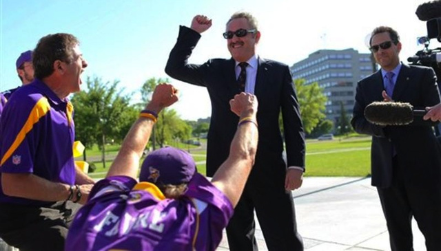 Vikings Owner Would Like To Thank The Fans, Who Will Pay For More Than Half Of His New Stadium