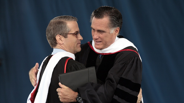 Who Gives a Shit if Mitt Romney is Nice to People He Already Likes?