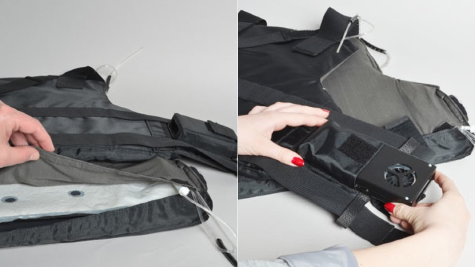 Air-Conditioned Flack Jackets Could Keep Cops Cool