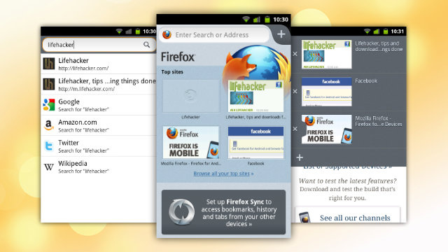 The Newest Firefox Beta for Android is Faster, Prettier, and Finally Worthwhile