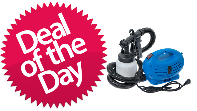 Click here to read This Paint Sprayer Is Your Paint-The-Fence-Like-Karate-Kid Deal of the Day