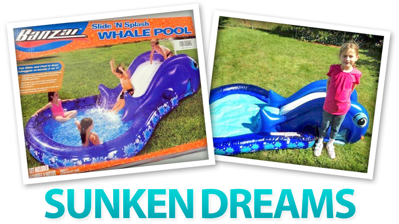 Everything You Need To Disappoint Kids Who Wanted A Real Pool