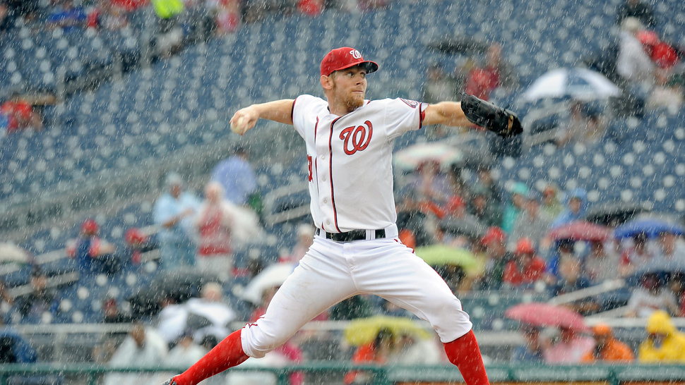 Stephen Strasburg Got Icy Hot On His Balls Today