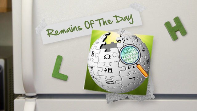 Remains of the Day: Wikipedia Alerts Users, If You See Ads It's Malware