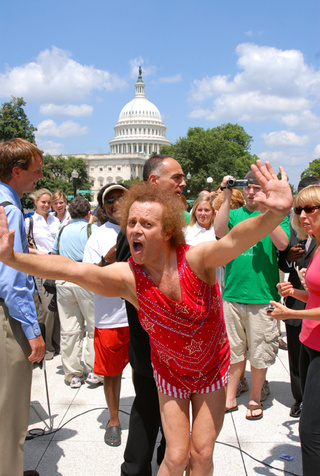 It's A Capitol Day For Richard Simmons
