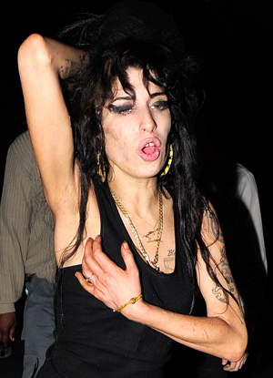 Amy Winehouse Hospitalized. Again.