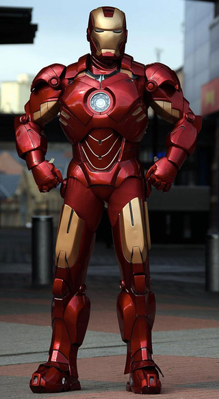 You'll Never Guess What This Incredible Iron Man Suit is Made From