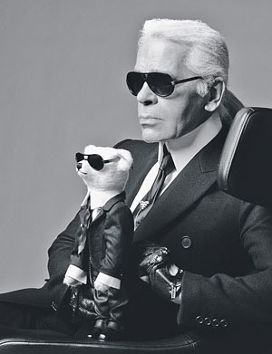 The Karl Lagerfeld Teddy Bear: High Priced, Not Too Cuddly