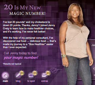 Do Queen Latifah's Jenny Craig Ads Herald A New Era Of Televised Body Acceptance?