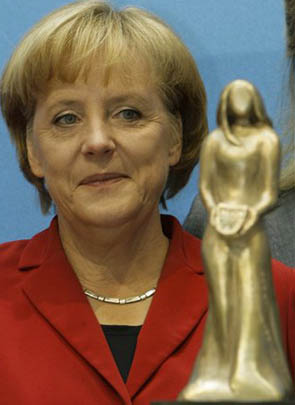 German Chancellor Angela Merkel Tops Forbes List Of Most Powerful Women