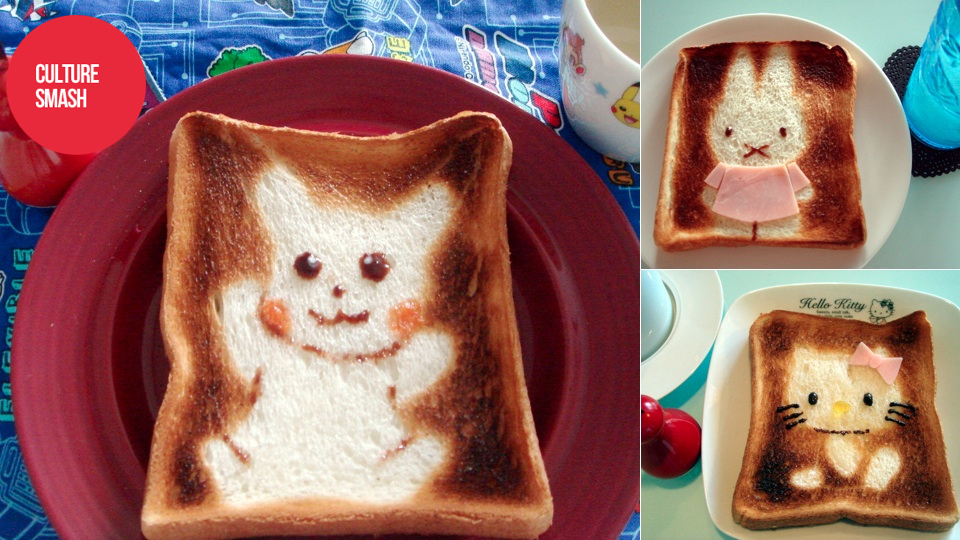 Click here to read Butter Your Bread with Pokémon and Hello Kitty